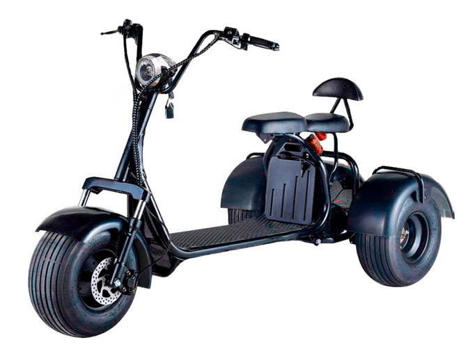 Электротрицикл CityCoco Blackline R3