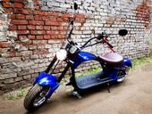 Электроскутер CityCoco Harley 2000w 60V 20Ah - Фото 10