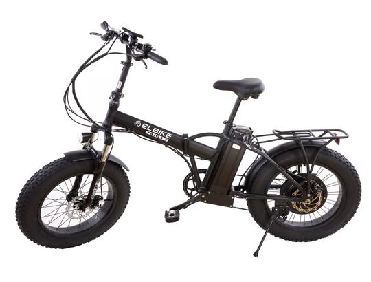 Электрофэтбайк Elbike Taiga 2 с багажником