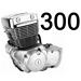 300 кубов