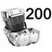 200 кубов