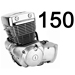 150 кубов