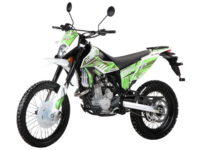 Мотоцикл AVANTIS Dakar 250 TwinCam (без ПТС)