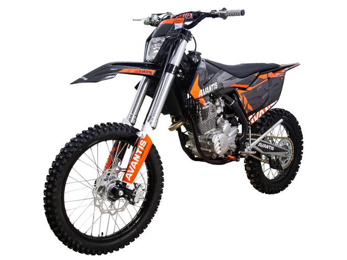 Мотоцикл Avantis Enduro 250 21/18 (172 FMM DESIGN KT Черный)