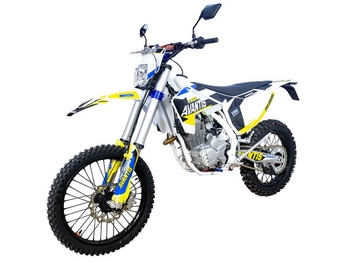 Мотоцикл AVANTIS ENDURO 250 ARS (172 FMM DESIGN HS) С ПТС