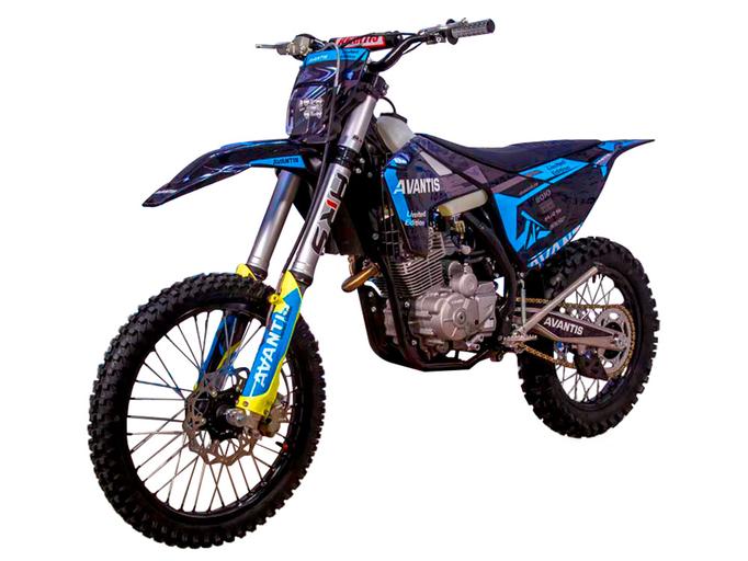 Мотоцикл Avantis Enduro 250 CARB (PR250/172FMM-5 DESIGN HS Черный) ARS
