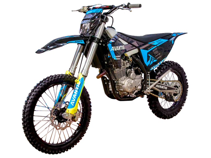 Мотоцикл Avantis Enduro 250 CARB (PR250/172FMM-5 DESIGN HS Черный) KKE