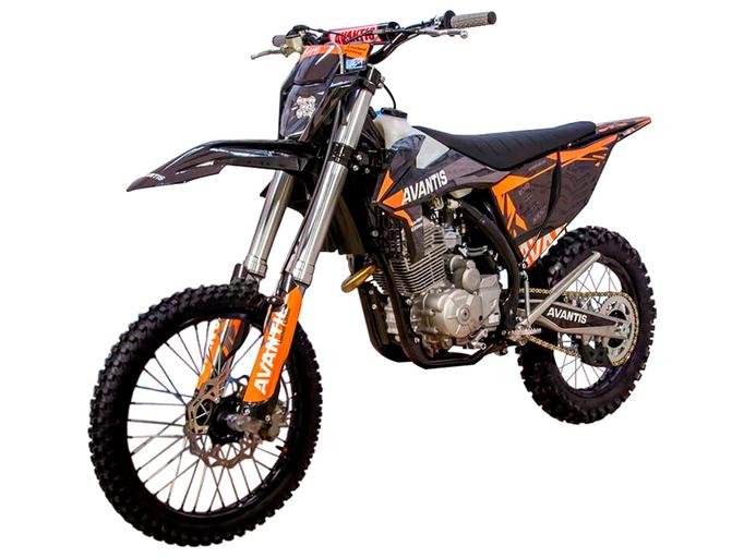 Мотоцикл Avantis Enduro 250 CARB (PR250/172FMM-5 DESIGN KT Черный) KKE