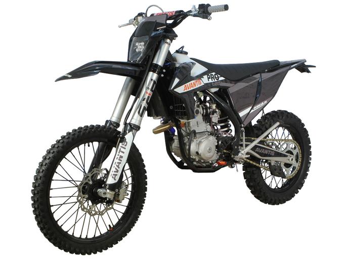 Мотоцикл Avantis Enduro 300 CARB ARS (NC250/177MM, DESIGN KTM ЧЕРНЫЙ) С ПТС