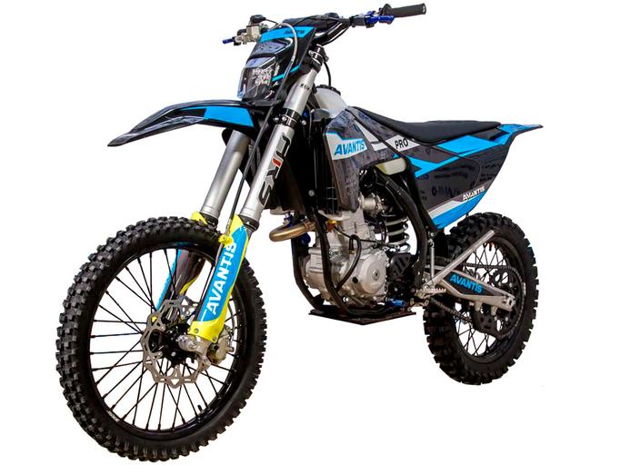 Мотоцикл Avantis Enduro 300 PRO EFI (NC250/177MM, DESIGN HS Черный) ARS (2021)