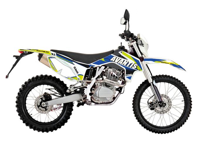 Мотоцикл Avantis FX 250 (172 FMM Design HS 2019) с ПТС