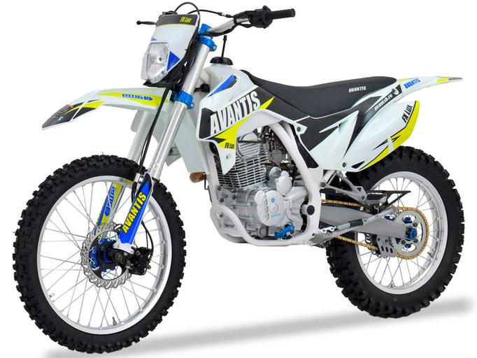 Мотоцикл Avantis FX 250 Lux (172FMM, возд.охл.)