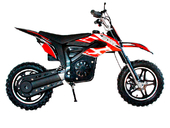 Электромотоцикл GreenCamel Питбайк DB400 (48V 1200W R14) - Фото 2