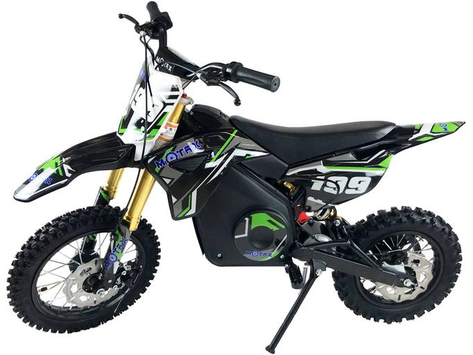 Детский электромотоцикл MOTAX 1100W мини-кросс