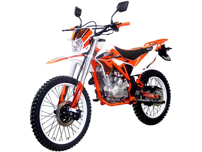 Мотоцикл WELS MX250R