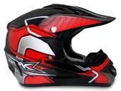 Мотошлем кроссовый Air X SPK (red) - Фото 0