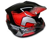 Мотошлем кроссовый Air X SPK (red) - Фото 4