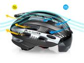 Шлем велосипедный Inbike S3 Light - Фото 2