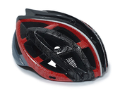 Шлем велосипедный RTS Protect M1 Red - Фото 0