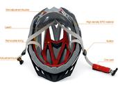 Шлем велосипедный Yongruih BS - Фото 3
