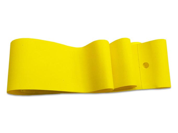 Ободная нейлоновая желтая лента для фэтбайка на обод 24