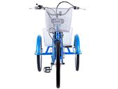Электровелосипед трицикл Crolan 350W - Фото 1