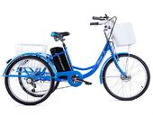 Электровелосипед трицикл Crolan 350W - Фото 2