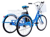 Электровелосипед трицикл Crolan 350W - Фото 3