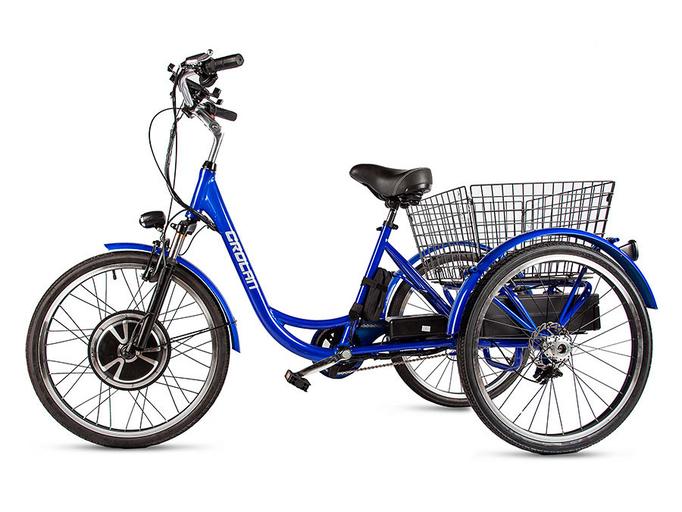 Электровелосипед трицикл Crolan 500W