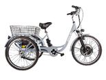 Электровелосипед трицикл Crolan 500W - Фото 17