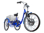 Электровелосипед трицикл Crolan 500W - Фото 1