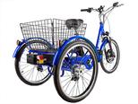 Электровелосипед трицикл Crolan 500W - Фото 3