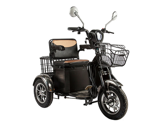 Электротрицикл Rutrike S1 V2 с большой корзиной