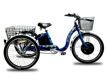 Электрический трицикл Horza Stels Trike 24-T1 1500W