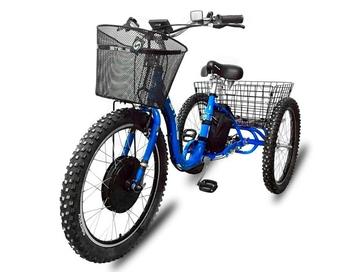 Электрический трицикл Horza Stels Trike 24-T2 1500W