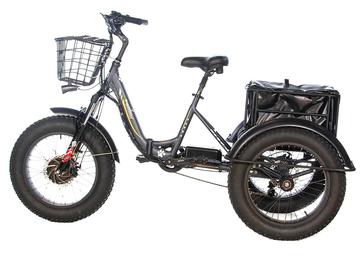 Электрический трицикл фэтбайк E-motions FAT Panda 20 (750W 15Ah)