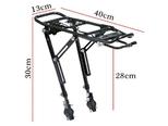 Багажник для велосипеда XMett M30 (Телескопическое крепление) - Фото 3